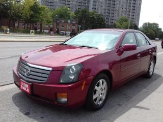 Used 2005 Cadillac CTS 3.6L/LEATHER/SUNROOF/DUAL-ZONE-CLIMATE/NICE! for sale in Scarborough, ON