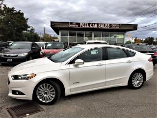 Used 2015 Ford Fusion SE Hybrid|LEATHER|REARVIEW| for sale in Mississauga, ON