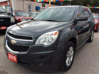 Used 2010 Chevrolet Equinox LS/4 CYL./ALLOYS/AUX/CRUISE CONTROL/PWR GROUP for sale in Scarborough, ON