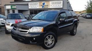 Used 2008 Mitsubishi Endeavor Limited LEATHER, NAVI, P-MOON for sale in Etobicoke, ON