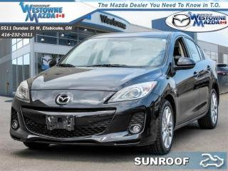 Used 2013 Mazda MAZDA3 GT - Sunroof -  Leather Seats for sale in Toronto, ON