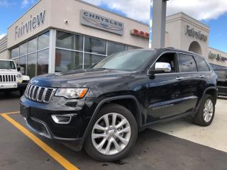 Used 2017 Jeep Grand Cherokee Limited.. V8,, Leather   Sunroof for sale in Burlington, ON