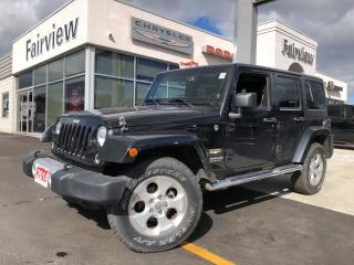 Used 2014 Jeep Wrangler Unlimited Sahara.. Leather   Heated Seats for sale in Burlington, ON