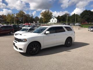 Used 2018 Dodge Durango R/T | Hemi | 7 Passenger | Navigation | Sunroof | for sale in Mitchell, ON