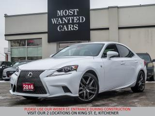 Used 2016 Lexus IS 350 F Sport | NAVIGATION | CAMERA for sale in Kitchener, ON