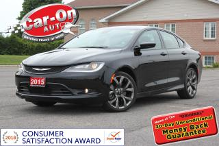 Used 2015 Chrysler 200 S LEATHER HTD SEATS FULL PWR GRP ONLY 13, 000 KM for sale in Ottawa, ON