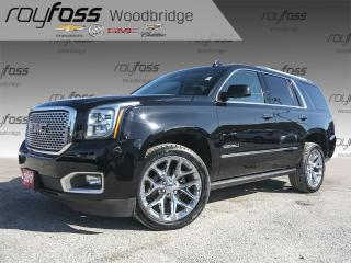 Used 2017 GMC Yukon Denali NAV, BOSE, DVD for sale in Woodbridge, ON