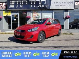 Used 2014 Hyundai Accent GLS ** Bluetooth, Heated Seats, Accident Free ** for sale in Bowmanville, ON