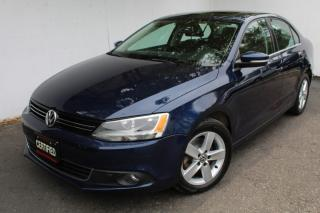 Used 2013 Volkswagen Jetta Sedan TDI Comfortline Sunroof Bluetooth Heated seats  Alloy wheels for sale in Mississauga, ON
