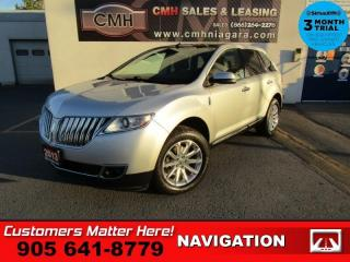 Used 2013 Lincoln MKX AWD NAV ROOF CS P/GATE THX-AUDIO MEM for sale in St. Catharines, ON