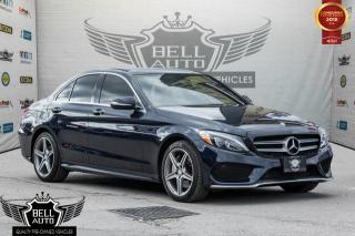 Used 2015 Mercedes-Benz C 300 4MATIC AMG PKG SPORT SEATS NAVI PANO-SUNROOF LEATHER for sale in Toronto, ON