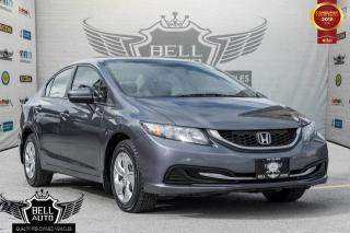 Used 2015 Honda Civic LX BACK-UP CAM, ECO MODE, BLUETOOTH, HEATED SEATS for sale in Toronto, ON