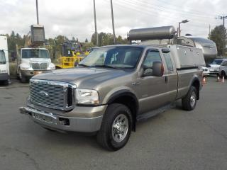 Used 2007 Ford F-350 SD XLT SuperCab Long Box 4WD Diesel with Canopy and Air Compressor for sale in Burnaby, BC