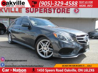 Used 2014 Mercedes-Benz E-Class E350 4MATIC | PANOROOF | NAVI | 360 CAM | LOW KM for sale in Oakville, ON