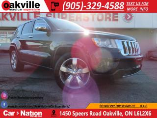Used 2011 Jeep Grand Cherokee LIMITED | LEATHER | PANO ROOF | B/U CAM | NAVI | for sale in Oakville, ON
