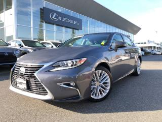 Used 2016 Lexus ES 350 6A Executive PKG, Certified, LOW KM, NO Accidents for sale in North Vancouver, BC