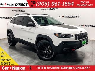 Used 2019 Jeep Cherokee Trailhawk L Plus| NAVI| PANO ROOF| LEATHER| for sale in Burlington, ON