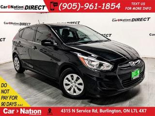 Used 2016 Hyundai Accent GL  HEATED SEATS  ONE PRICE INTEGRITY  for sale in Burlington, ON