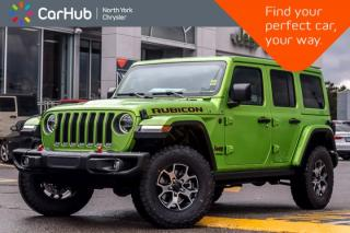 New 2018 Jeep Wrangler Unlimited Rubicon 4x4 New Car|Tech Pkgs|Cold Wthr Pkg|Safety Pkg|17