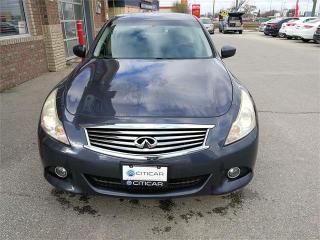 Used 2010 Infiniti G37 Sedan Sport/Park Sensor/Dual Exh/Clean Vehicle/Dark Blue for sale in Winnipeg, MB