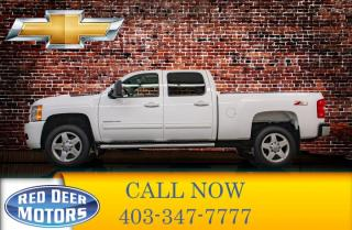 Used 2014 Chevrolet Silverado 2500 HD 4x4 Crew Cab LTZ Leather Roof Nav for sale in Red Deer, AB