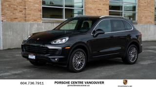 Used 2015 Porsche Cayenne S w/ Tip | PORSCHE CERTIFIED for sale in Vancouver, BC