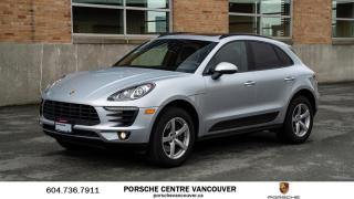 Used 2017 Porsche Macan | PORSCHE CERTIFIED for sale in Vancouver, BC