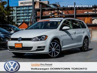 Used 2016 Volkswagen Golf Wagon COMFORTLINE TSI APP CONNECT for sale in Toronto, ON