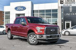 Used 2016 Ford F-150 XLT SUPERCREW 5.5' BED 4WD - TRAILER TOW - REAR VIEW CAMERA for sale in Ottawa, ON