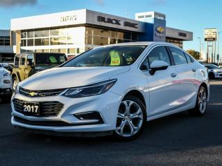Used 2017 Chevrolet Cruze PREMIER, LEATHER, HEATED SEATS, AUTOMATIC, 17