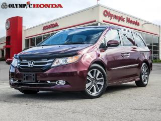 Used 2016 Honda Odyssey Touring for sale in Guelph, ON