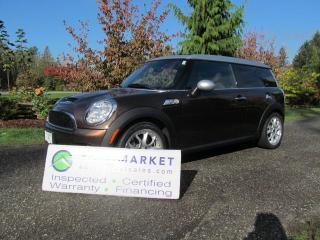 Used 2010 MINI Cooper Clubman S-AUTO, LOAD, INSP, WARR, FINANCE for sale in Surrey, BC