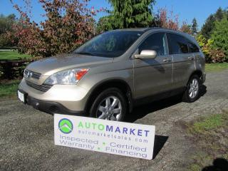 Used 2008 Honda CR-V EX-L 4WD LEATHER, ROOF, INSP, WARR, FINANCE! for sale in Surrey, BC