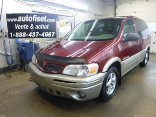 Used 2001 Pontiac Montana SE for sale in St-Raymond, QC