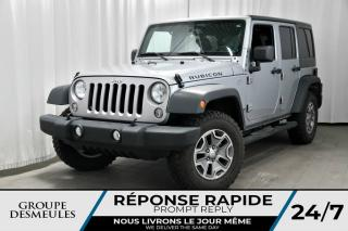 Used 2016 Jeep Wrangler RUBICON + 4 PORTES + 4X4 for sale in Laval, QC