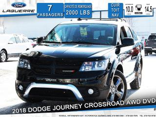 Used 2018 Dodge Journey CROSSROAD CUIR TOIT for sale in Victoriaville, QC