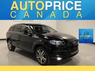 Used 2015 Audi Q7 3.0 TDI Progressiv 7PASS|NAVIGATION|PANOROOF|LEATHER for sale in Mississauga, ON