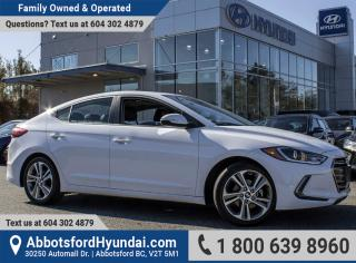 Used 2018 Hyundai Elantra GLS ACCIDENT FREE for sale in Abbotsford, BC
