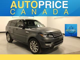 Used 2015 Land Rover Range Rover Sport V6 SE NAVIGATION|REAR CAM|LEATHER for sale in Mississauga, ON