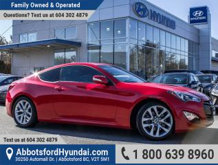 Used 2015 Hyundai Genesis Coupe 3.8 Premium BC OWNED & ACCIDENT FREE for sale in Abbotsford, BC