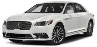 New 2017 Lincoln Continental Reserve for sale in Calgary, AB
