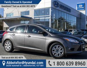 Used 2014 Ford Focus SE BC OWNED & LOW KILOMETRES for sale in Abbotsford, BC