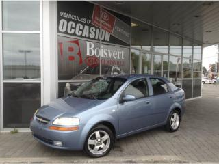 Used 2006 Chevrolet Aveo A/C for sale in Blainville, QC
