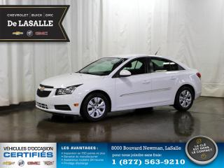 Used 2014 Chevrolet Cruze Lt Cert. A/c for sale in Lasalle, QC