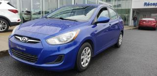 Used 2014 Hyundai Accent Gl + A/c + Bluetooth for sale in Ste-Julie, QC