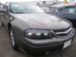 Used 2003 Chevrolet Impala Base for sale in Fort Erie, ON