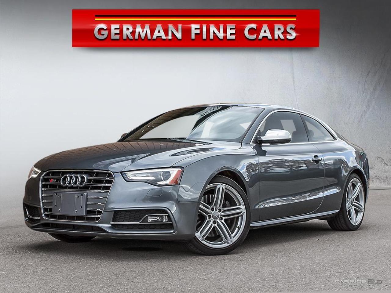 2013 Audi S5 **COUPE, 3.0T PREMIUM, NAVIGATION, AWD**