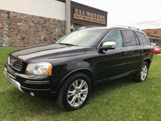 Used 2013 Volvo XC90 3.2 Premier Plus. AWD, 7 Passenger, Bluetooth. for sale in North York, ON