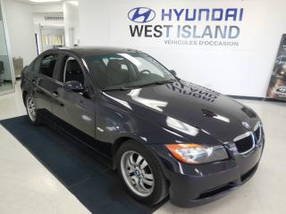 Used 2007 BMW 3 Series Propulsion, Berline, 2.5L, 323i for sale in Dorval, QC