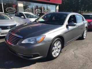 Used 2013 Chrysler 200 TOURING 1-2-3-4 for sale in St-Eustache, QC